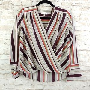 MONTEAU PULLOVER TOP SZ MD